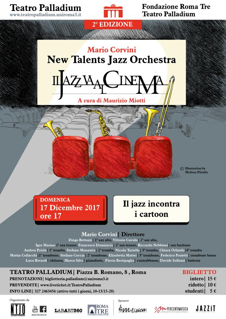 17 dicembre, Il jazz va al cinema per il web