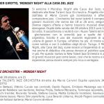 NTJO - Girotto  - Casa del Jazz
