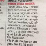 concerto Greta giornale