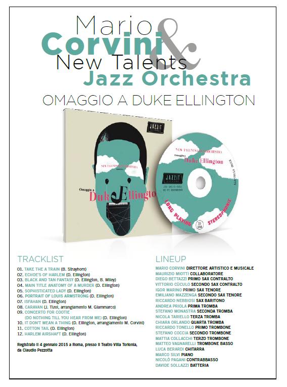 NTJO - Omaggio a Duke Ellingtin - tracklist