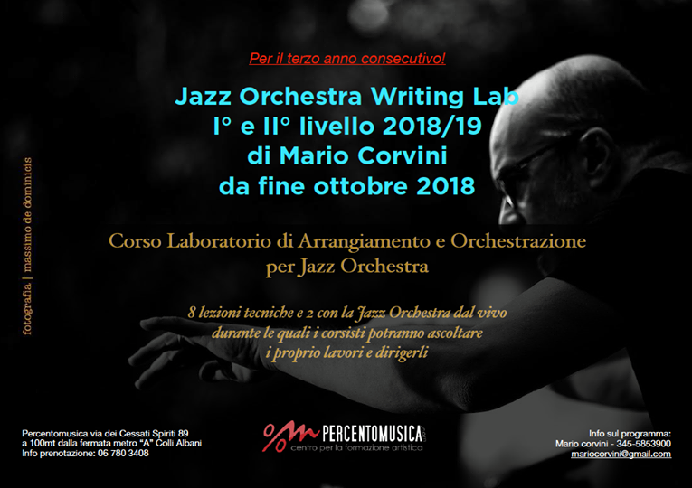 Jazz Orchestra writing lab